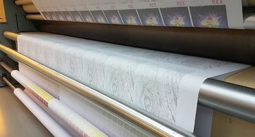 News image Market for printing textiles reverts to transfer paper