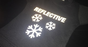 News image Make yourself visible during winter with our reflective cutting films