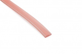 Flat strip self-adhesive
