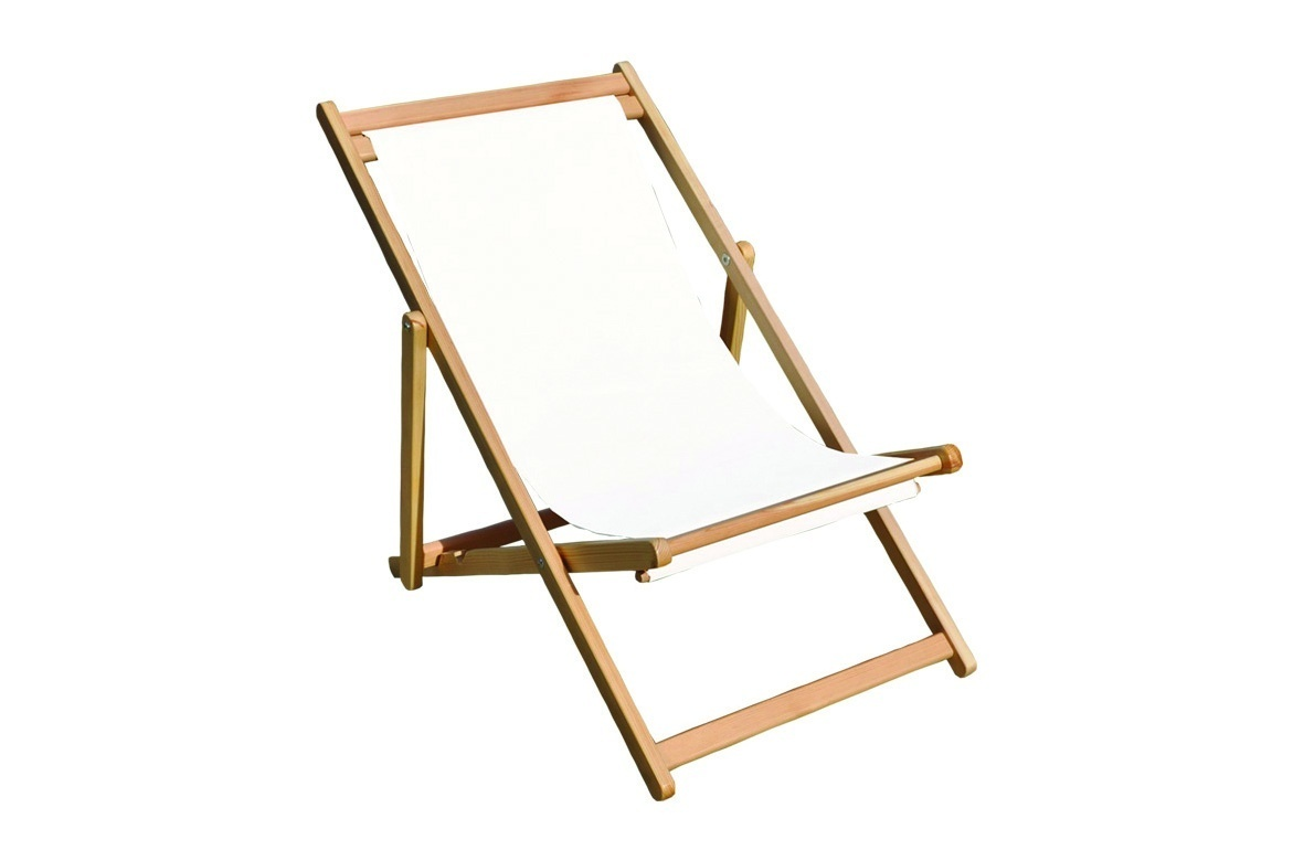 Image principale Wooden Kids Beach Chair - without fabric