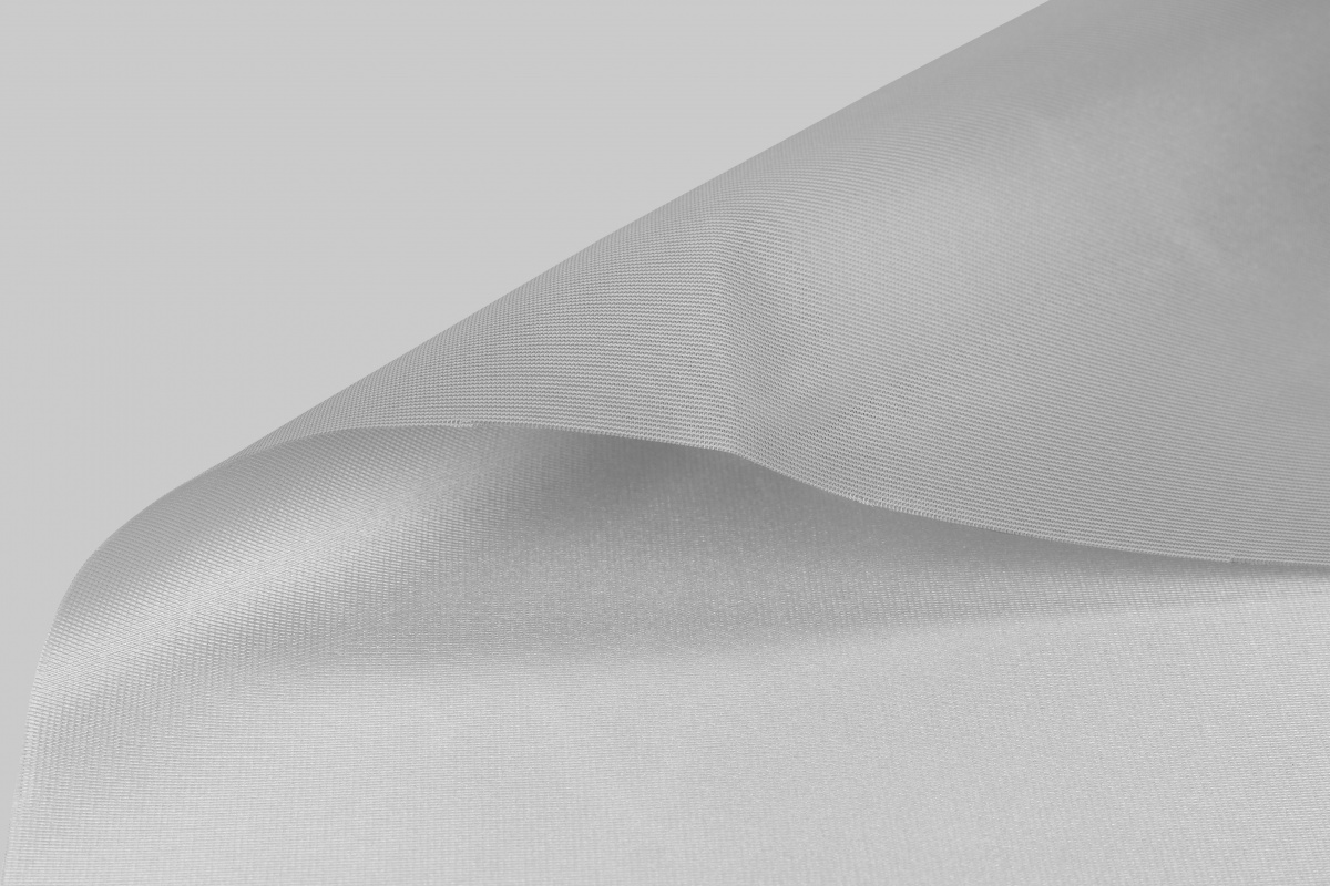 Main img Basic Satin 130 dyed Silver Grey FR